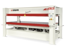 SCM Sergiani Hot Platen Press Model GS